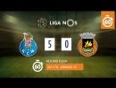 Лига НОШ 201718 (Тур 23): Порту – Риу Аве 5:0 (лучшие моменты)