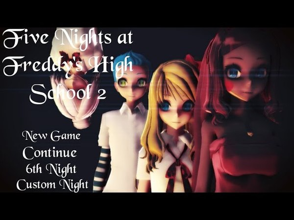 【MMD】Five Nights at Toddys 1 Song FNAFHS 【Especial()】