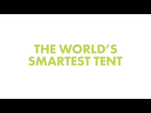 Cinch The World's Smartest Tent ★ Solar Power ★ Climate Control ★ LED