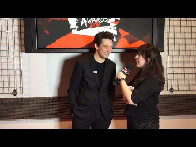 Josh O'Connor live at the Rakuten TV Empire Awards 2018