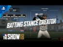 MLB The Show 18 - Gamestop Monday: Batting Stance Creator | PS4