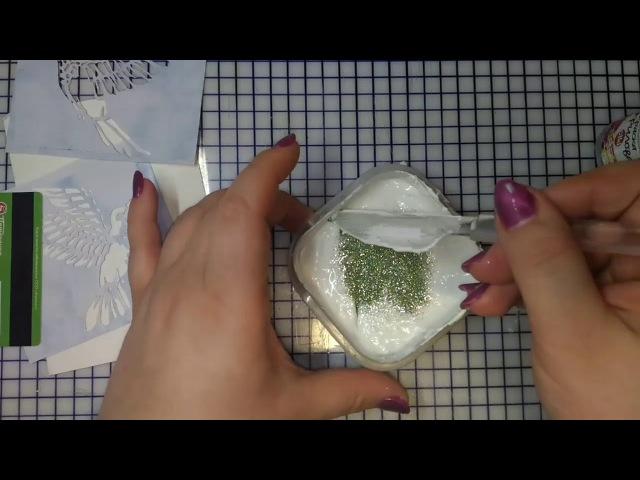 Текстурная паста/простой и эффективный способ