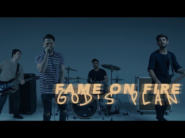 Gods Plan - Drake (Fame On Fire Rock Cover) Trap Goes Punk