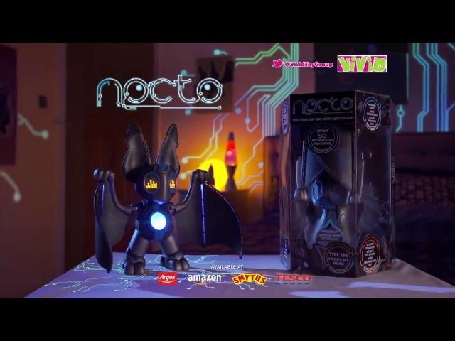 Интерактивная летучая мышь Nocto (Нокто) от Vivid