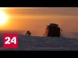Военные испытали в Арктике новые плавучие вездеходы