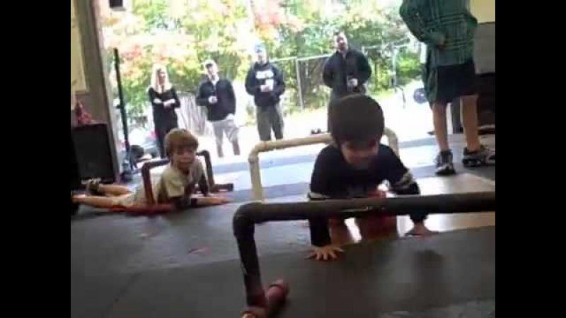 112209 CFNA - CrossFit Kids North Atlanta Obstacle Course