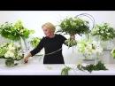 Мастер-класс Марины Петровой спиральная техника на примере белых букетов