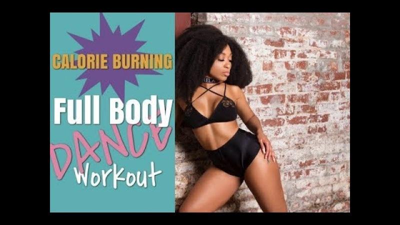 CALORIE BURNING Full Body Dance Workout -Keaira LaShae