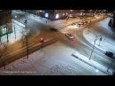 Две легковушки не поделили дорогу в Петрозаводске