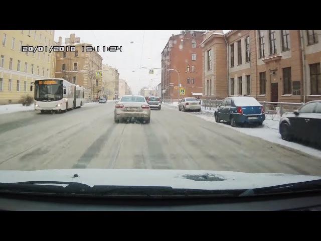 Подборка ДТП / Зима 2018/ Часть 253 - Car Crash Compilation - Part 253