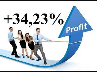 3 выпуск по увеличению банка. Профит +34,23%