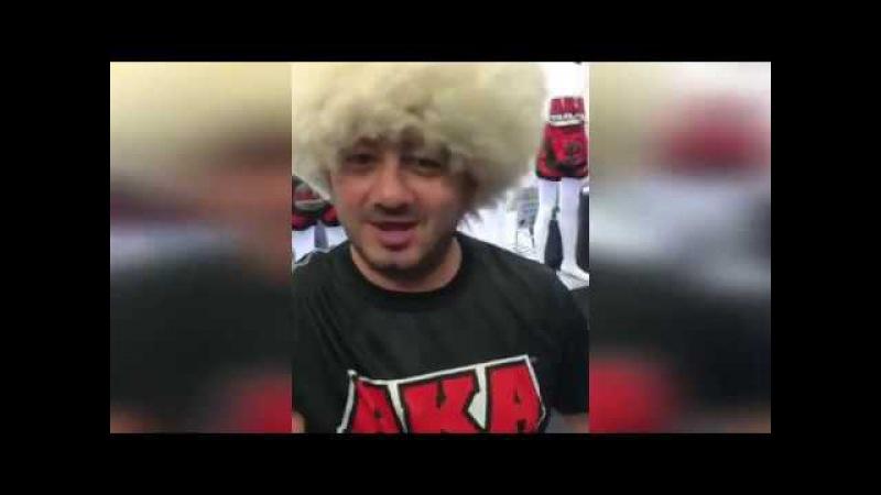 Галустян готовится к бою с Хабибом Нурмагомедовым ヅ