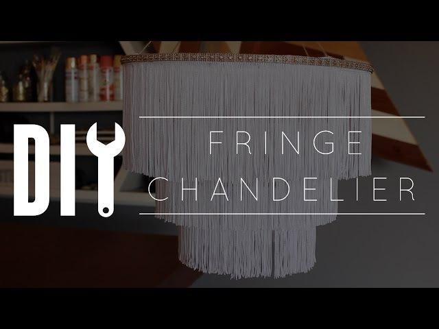 DIY Chandelier Fringe