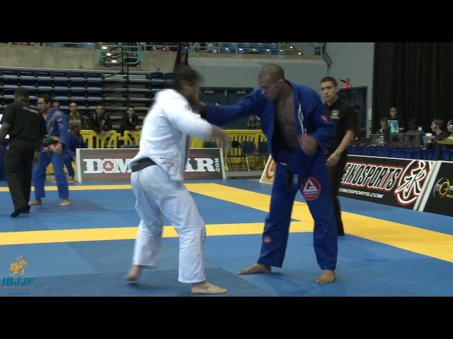 Kron Gracie vs Carlos Ribeiro Pan Championship 2012