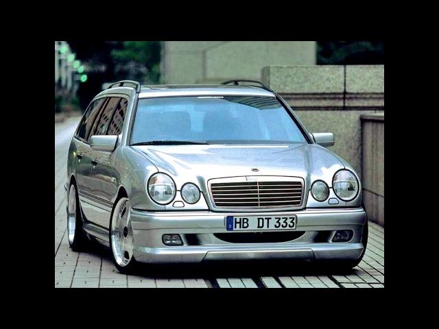 WALD Mercedes Benz E Klasse Estate S210 1996 99
