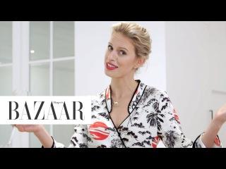 Everything Karolina Kurkova Eats In A Day   Food Diaries   Harper's BAZAAR