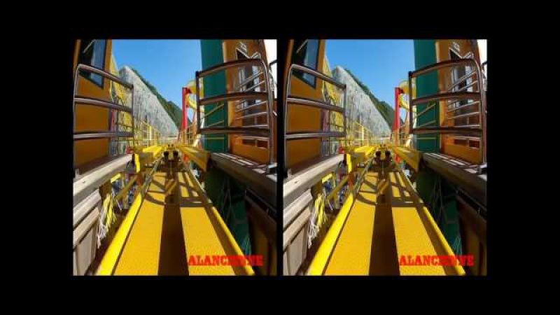Видео для очков виртуальной реальности Попробуй досмотри до конца🎢 Американ ...