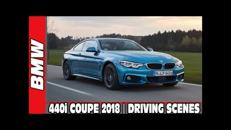 2018 BMW 440i COUPE | DRIVING SCENES