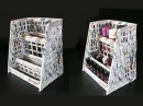 How To Make A Cosmetic Organiser From Newspaper Best out of waste Desk organizer using newspaper