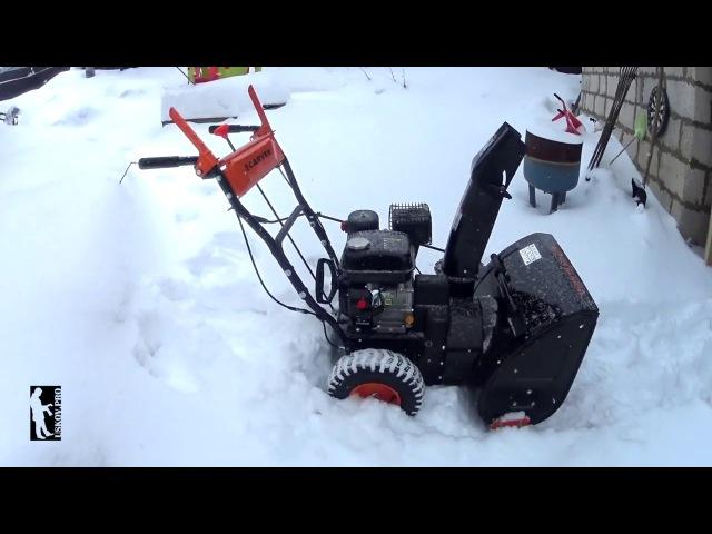 Обзор снегоуборщика Carver STG 6556