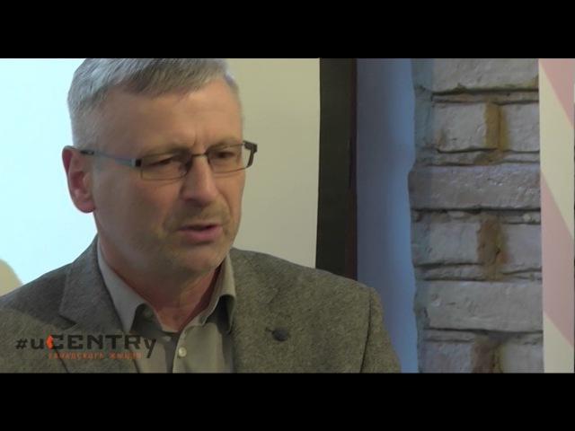 Менавіта Альгерд вярнуў Украіну ў Еўропу. Моцная лекцыя Алеся Краўцэвіча
