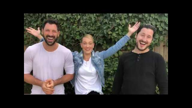 Maks Val and Peta give a shout out to Evansville!