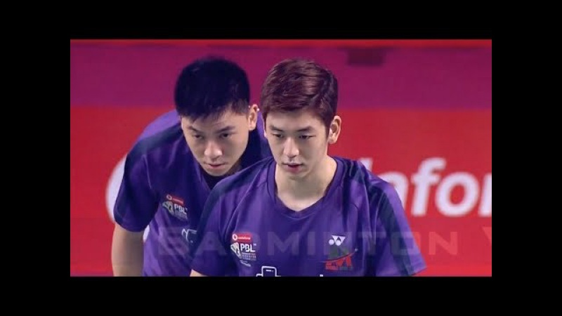LEE Yong Dae TAN Boon Heong vs Vladimir IVANOV Ivan SOZONOV Badminton 2018 Premier League