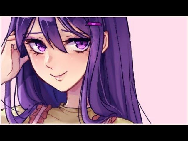 Yuri (DDLC speedpaint)