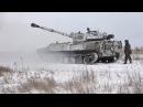 """САУ 2С1 """"Гвоздика"""". Ведущая стреляет из артиллерии. 22.02.2018, """"В казарме"""""""