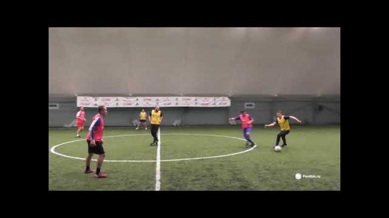 FOOTBIC.RU. Видеообзор 6.11.2017 (Метро Марьина Роща). Любительский футбол