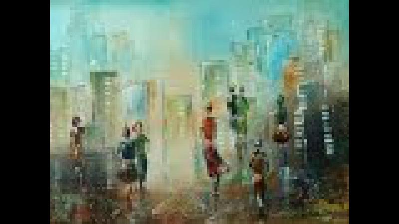 Acrylmalerei Spachteln, Strukturen, Figuren Spackling, Structures, Figures