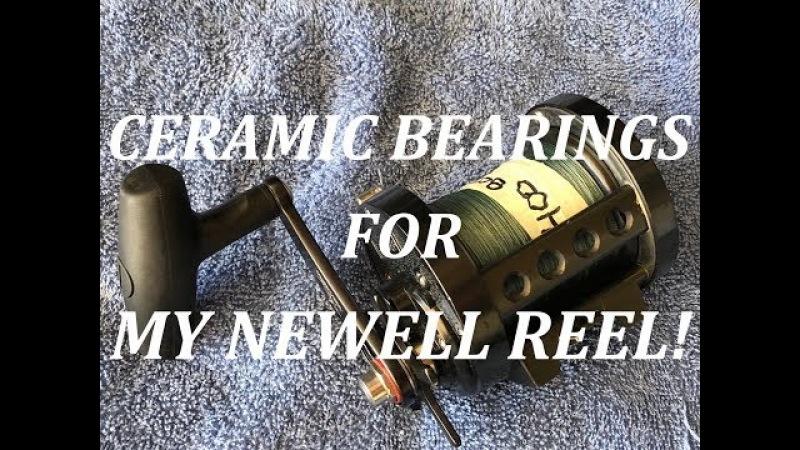 Installing Ceramic Bearings For My Newell Reel