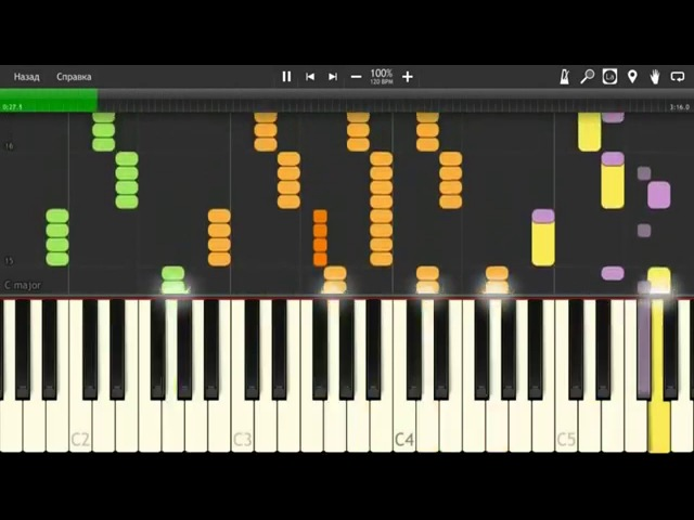 Pain - Shut Your Mouth ( Synthesia ) Piano Tutorial