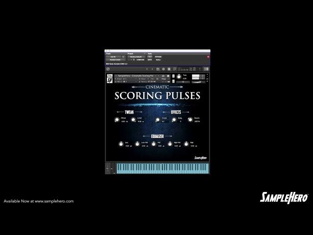 SampleHero - Cinematic Scoring Pulses