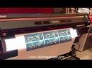 Mimaki UJV300-160 printing with UV ink