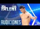El Jurado queda 'colgado' de Donet | Audiciones 1 | Got Talent España 2016