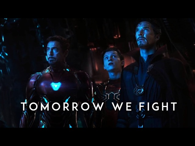 Marvel || Tomorrow we fight