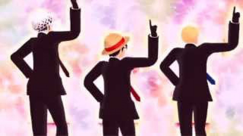 【MMDワンピ】スーツなLLSでWhat_the_hell