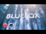 Redshift snowy Text and magic snow CINEMA 4D TUTORIAL