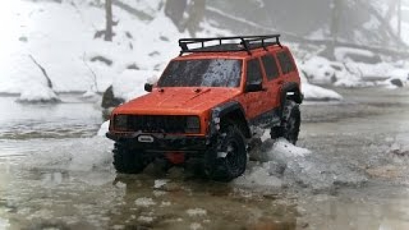 SCX10 ii Snow Adventure! SCX10 2 In Snow For First Time!
