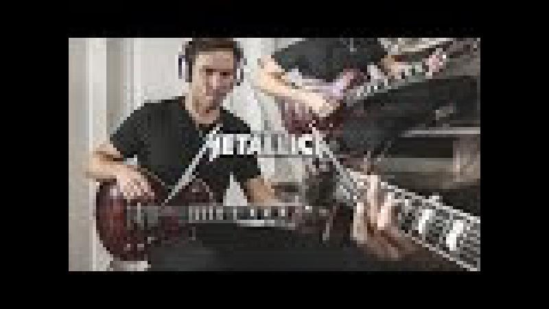 Metallica Moth Into Flame Guitar Cover Multicam Original Solo