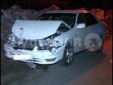 Лихач протаранил попутную иномарку и сбежал с места аварии вместе с другом. MestoproTV