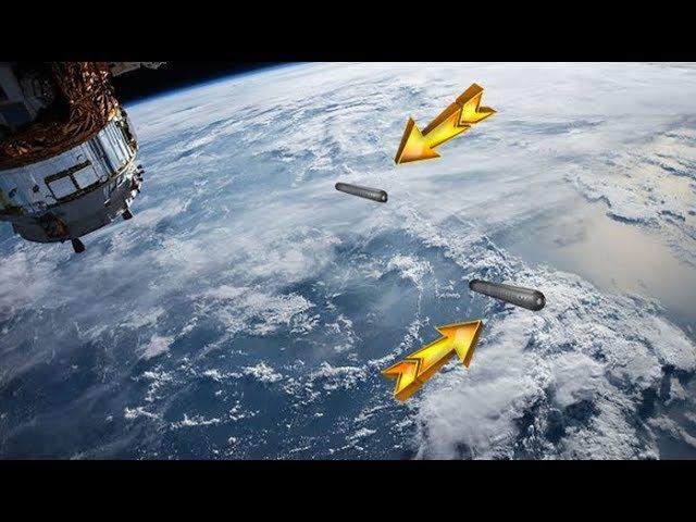 OVNIs gigantescos captados en alta definición en las cámaras de la NASA