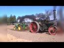 Паровой трактор 19 века победил современный дизель
