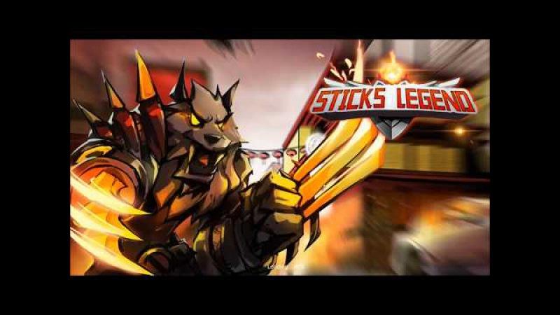 Sticks Legends - Ninja Warriors (Dreamsky) android game first look gameplay español