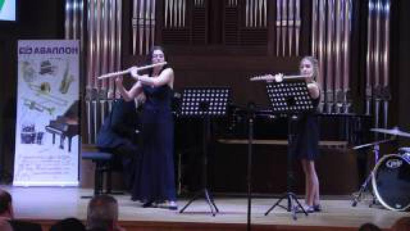 Ella Dolzhikova, Arina Dolzhikova - Divertissement Grec (Gaubert)