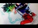 Drawing Deku Midoriya Izuku - Boku no Hero Academia (Full Cowl) 「緑谷 出久 - 僕のヒーローアカデミア」
