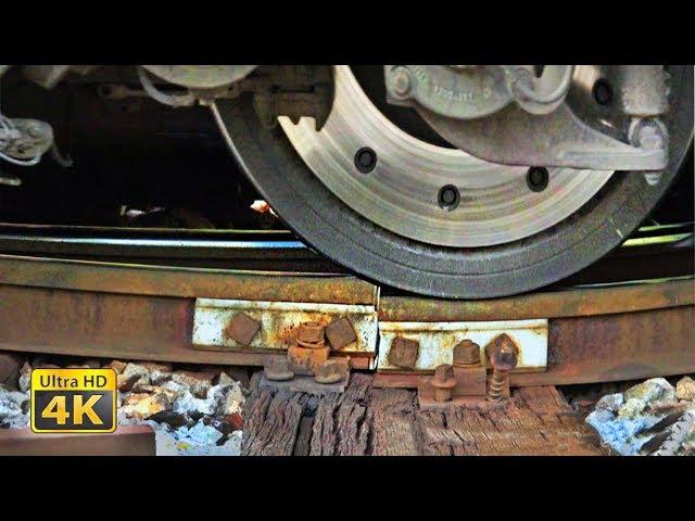 Huge trains masses on bad rail joints - Sweet sounds of bad rails - Belgrade Rakovica