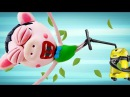 Peppa Pig Episodes Stuck in Vacuum Cleaner Peppa Pig en Español Play Doh Stop Motion Video