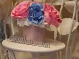 Мастер-класс: Гортензия из фоамирана для шляпной коробки